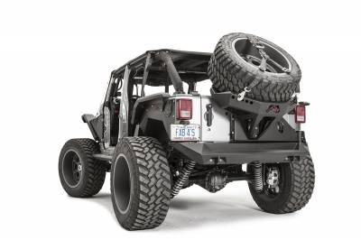 Fab Fours - JK SLANT BACK TIRE CARRIER - Image 4