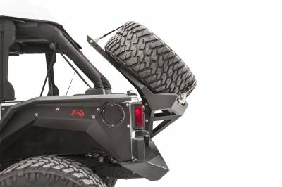 Fab Fours - JK SLANT BACK TIRE CARRIER - Image 5