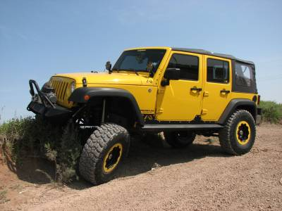 Fab Fours - JK 4 DOOR ROCK SLIDERS - Image 3