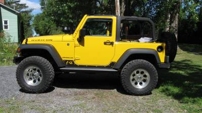 Fab Fours - JK 2 DOOR ROCK SLIDERS