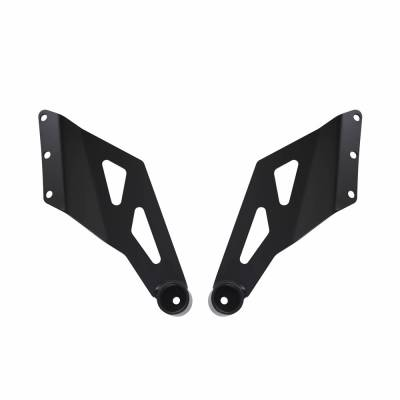 "Heise - DODGE RAM 1500 2002-2008 50"" CURVED LIGHT BAR BRACKETS"
