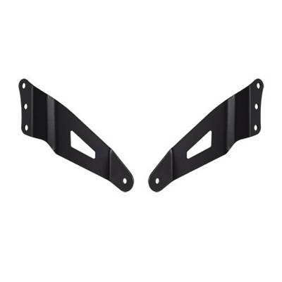"Extra Light - Mounts - Heise - GM SILVERADO / SIERRA 1500 1999-2006 54"" CURVED LIGHT BAR BRACKETS"