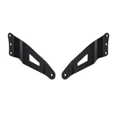 "Heise - GM SILVERADO / SIERRA 1500 1999-2006 50"" CURVED LIGHT BAR BRACKETS"