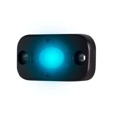 Heise - 1.5 x 3 INCH BLUE AUXILLARY ACCENT LIGHTING POD