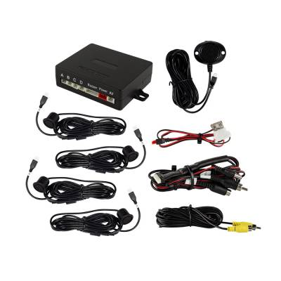 Backup Camera - iBeam - iBeam - REAR PARKING ASSIST KIT WITH REAR CAMERA INTEGRATION