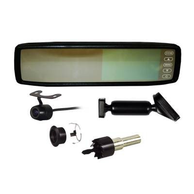 Backup Camera - iBeam - iBeam - REPLACEMENT REAR VIEW MIRROR