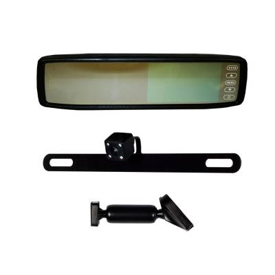 Backup Camera - iBeam - iBeam - REPLACEMENT REAR VIEW MIRROR WITH IR LED CAMERA