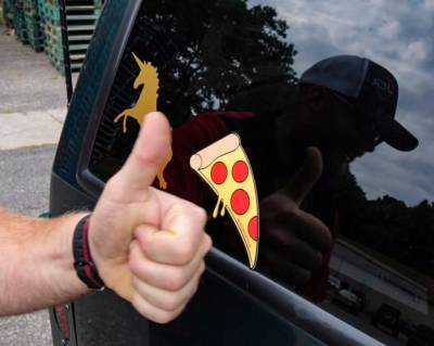 Gifts - Must Have - JCR OFFROAD - Support Pizza Sticker #SupportPizza