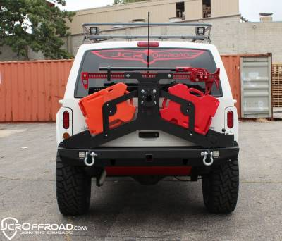 JCR OFFROAD - XJ RotoPax Mounts Adventure Tire Carrier Jeep Cherokee (84-01) - Image 2