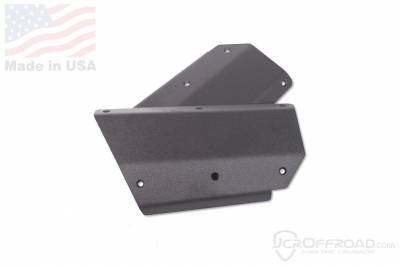 Bumper & Body - JCR Offroad XJ - JCR OFFROAD - XJ Quarter Panel Armor Lower Bumper Integrated Jeep Cherokee (84-01)