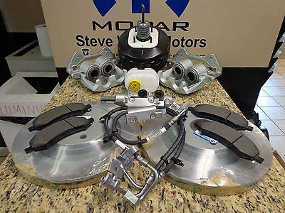 Mopar - Mopar Upgrades Big Brake Kit for the Jeep 07-17 2 Door and 4 Door JK P5160051 *NO CALIPERS - Image 2