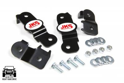 Brakes - Lines - JKS MFG. - Wrangler JK, 2007-2016, Brake Line Relocation Bracket