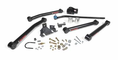 Steering - Death Wobble Fix - JKS MFG. - JSPEC Advanced Link Upgrade Kit 2007-2016 Jeep Wrangler JK