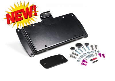 Gifts - Must Have - JKS MFG. - Wrangler JK, 2007-2015, License Plate Relocation Kit w/Light