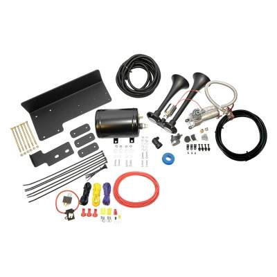 Gifts - Must Have - Kleinn - Air Horn Kit for Jeep Wranglers 2007 & Up