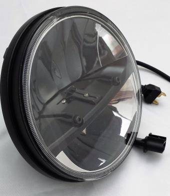 Lifetime LED - Full replacement Headlamp for JK JEEP LED HEADLIGHTS 7 INCH ROUND Split Blk/Chrm - Image 3