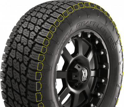 "Wheel & Tire Shop - 35"" - NITTO - Nitto Terra Grappler G2 35x12.50R18"