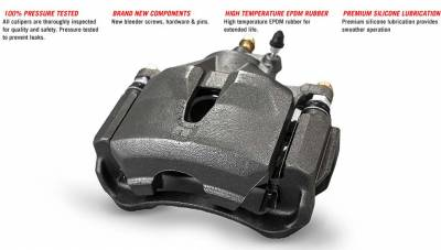 Brakes - Calipers - Power Stop - Rebuilt Caliper JK 07+ - Rear Left