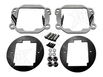 Rigid Industries - 2007-2015 Jeep JK Fog Light Kit