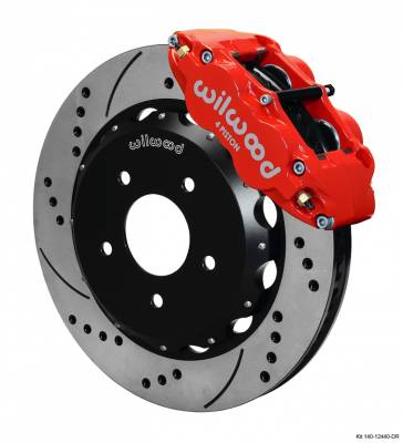 Wilwood - WilWood Forged Narrow Superlite 4R Complete Brake Kit  07+ JEEP JK - FRONT Replacement - Image 2