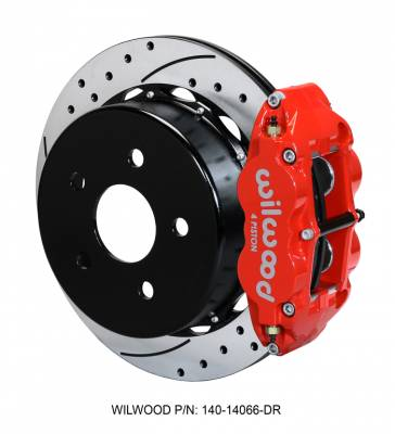 Wilwood - WilWood Forged Narrow Superlite 4R Complete Brake Kit  07+ JEEP JK - REAR Replacement - Image 2