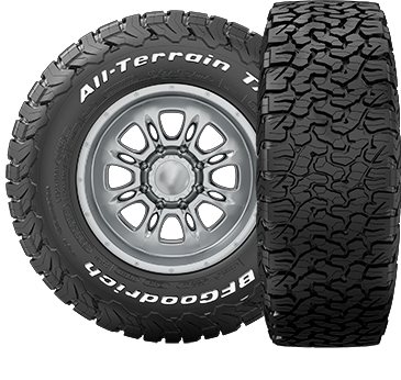 "Wheel & Tire Shop - 35"" - BF GOODRICH - BF Goodrich All-Terrain T/A KO2 35x12.50R15"