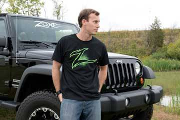 ZONE OFFROAD PRODUCTS - Zone Offroad Mens T-Shirt (Black)
