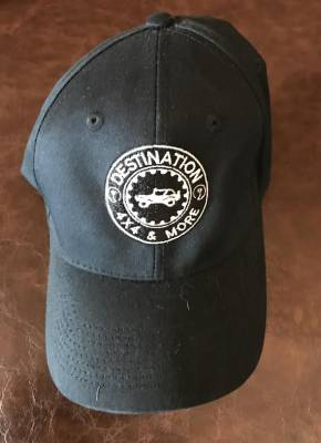 Gifts - Apparel - Destination 4x4s and More - Black Logo Hat