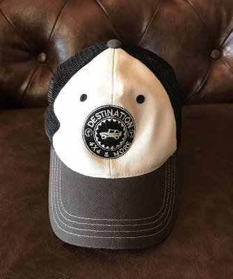 Destination 4x4s and More - Black/Grey Trucker Hat