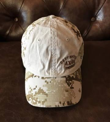Gifts - Apparel - Destination 4x4s and More - Green Camo Hat
