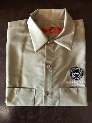 Gifts - Apparel - Destination 4x4s and More - Cotton Khaki Button Up
