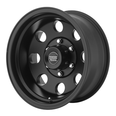 American Racing Wheels - American Racing Wheel 15x10 AR172 Matte Black