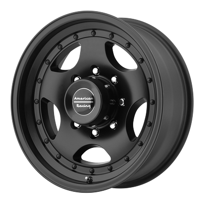 American Racing Wheels - American Racing Wheel 15x10 AR23 Satin Black