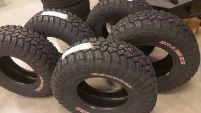 Wheel & Tire Shop - 33""