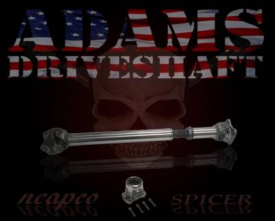 Axle & Drivetrain - Driveshaft - Adams Driveshaft