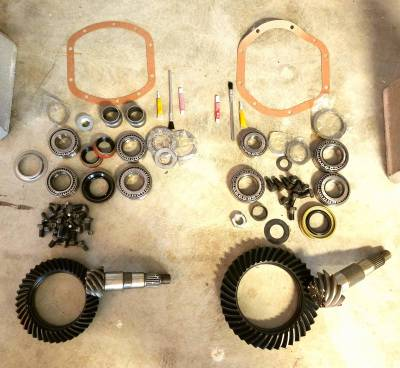 Gearing - One Click Gear Package - Destination 4x4s and More - Jeep Non-Rubi JK Easy Gear Package 4.56 Dana Gears