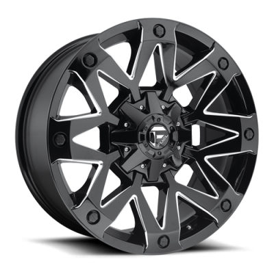 Wheels - Fuel Offroad - Fuel Off-Road - Fuel Ambush D555 Gloss Black Milled