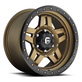 Wheels - Fuel Offroad - Fuel Off-Road - Fuel Anza D583 Matte Bronze Black Rim