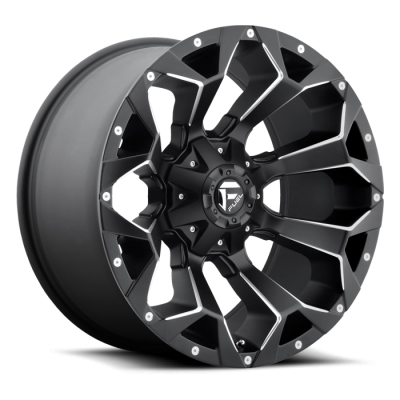 Wheels - Fuel Offroad - Fuel Off-Road - Fuel Assault D546 Milled Black