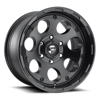 Fuel Off-Road - Fuel Enduro D608 17 X 9 Black