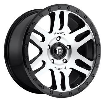 Wheels - Fuel Offroad - Fuel Off-Road - Fuel Recoil D584 Matte Black