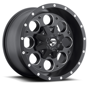 Wheels - Fuel Offroad - Fuel Off-Road - Fuel Revolver D525 Matte Black & Milled