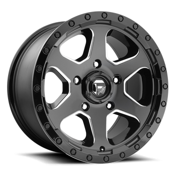 Wheels - Fuel Offroad - Fuel Off-Road - Fuel Ripper D590 Gloss Black & Milled