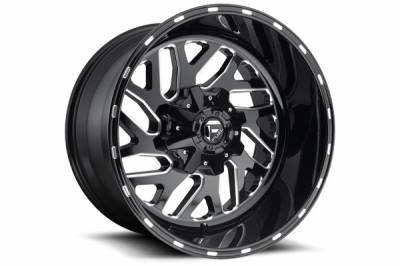 Wheels - Fuel Offroad - Fuel Off-Road - Fuel Triton D581 Triton Black & Milled