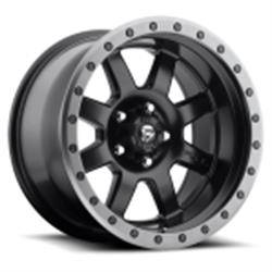Wheels - Fuel Offroad - Fuel Off-Road - Fuel Trophy D551 Matte Black w/ Anthracite Ring