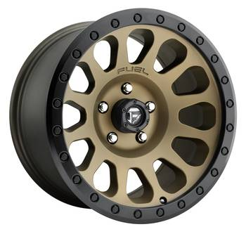 Wheels - Fuel Offroad - Fuel Off-Road - Fuel Styles Vector D600 Bronze