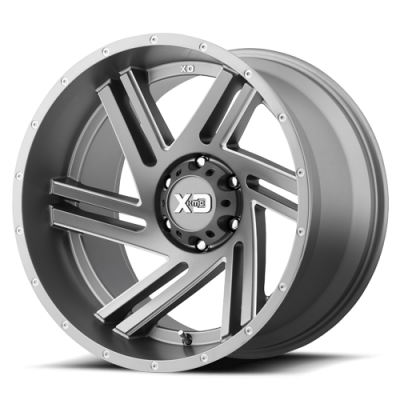Wheels - XD Wheels - XD Series - XD835 Satin Grey Milled