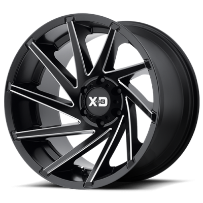 Wheels - XD Wheels - XD Series - XD834 Satin Black Milled