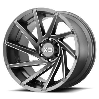 Wheels - XD Wheels - XD Series - XD834 Satin Grey Milled