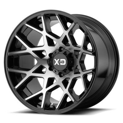 Wheels - XD Wheels - XD Series - XD831 GLOSS BLACK MACHINED